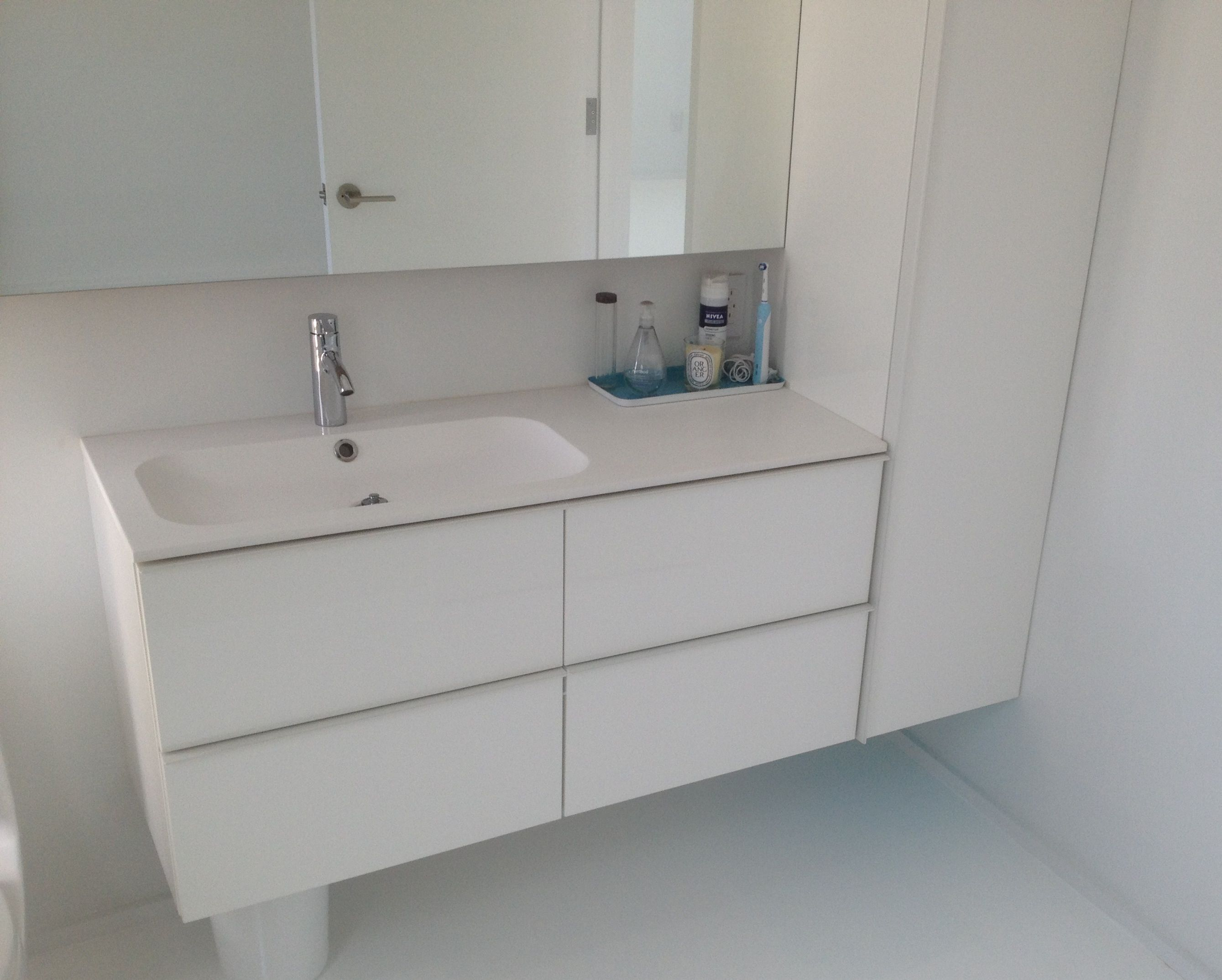 Ikea with different sink and wall