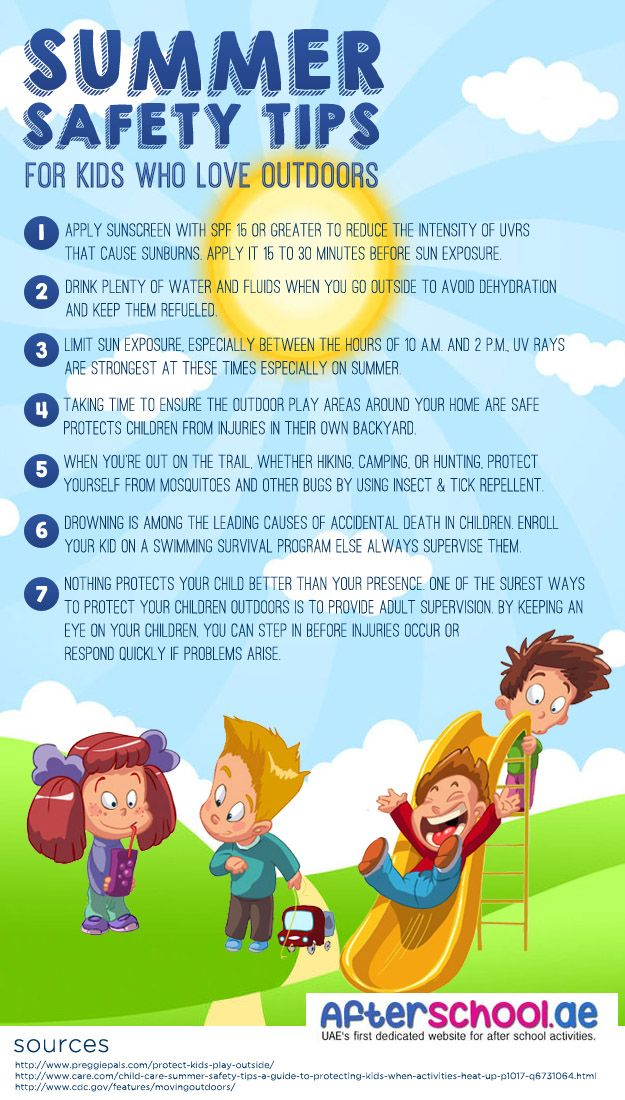 Here is our summer safety tips for kids and parents who