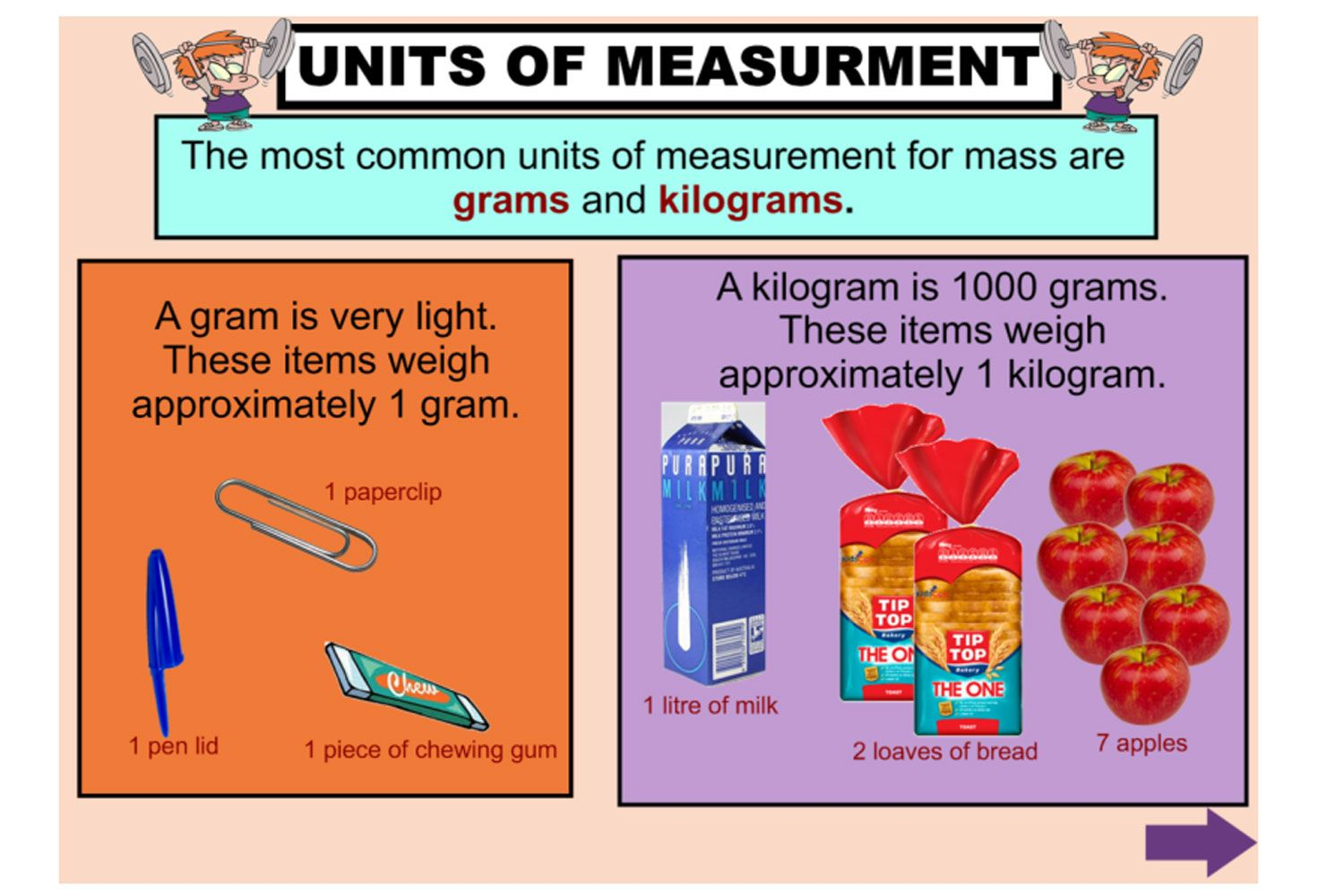 Help Your Students To Understand Measuring Mass In Grams