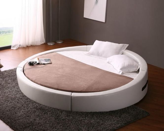 Super Funky Round Bed