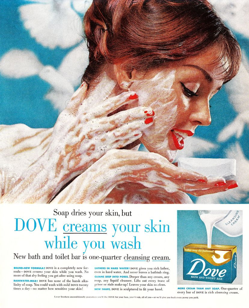 Yeah, That's Right. I'm Washing My Face With Dove Soap