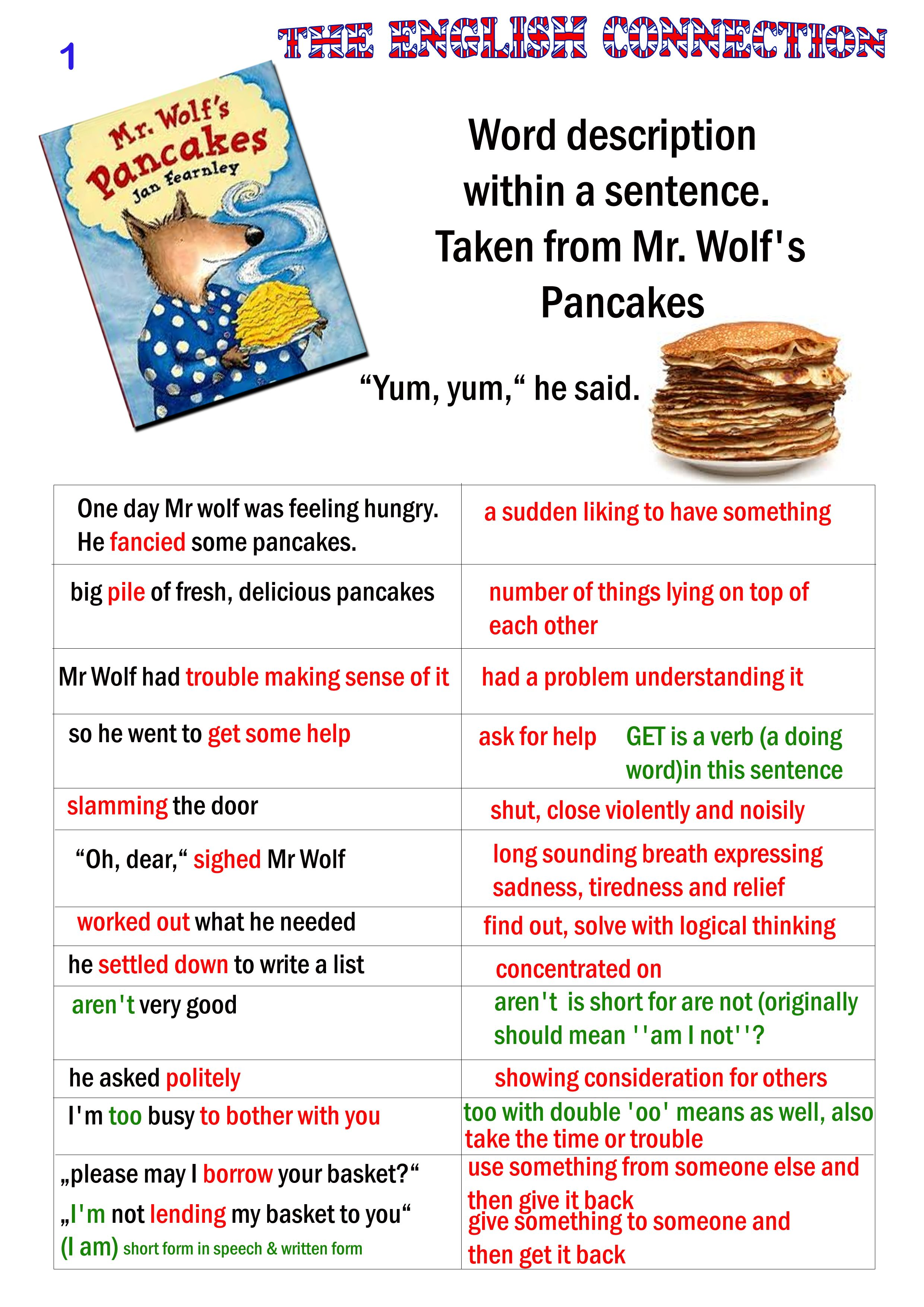 Mr Wolf S Pancakes An Fantastic Childrens Book And Great