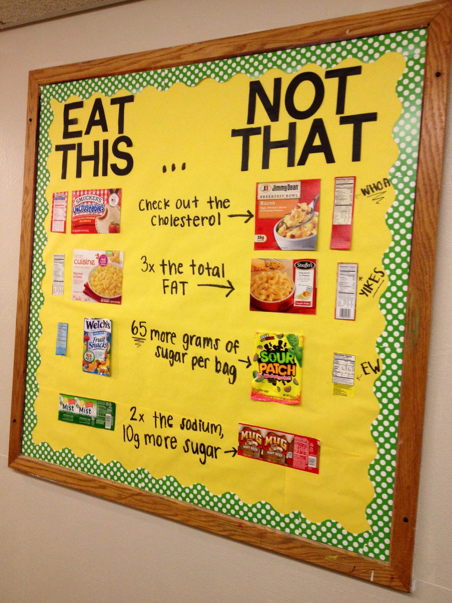 This would be a neat bulletin board to do and partner with