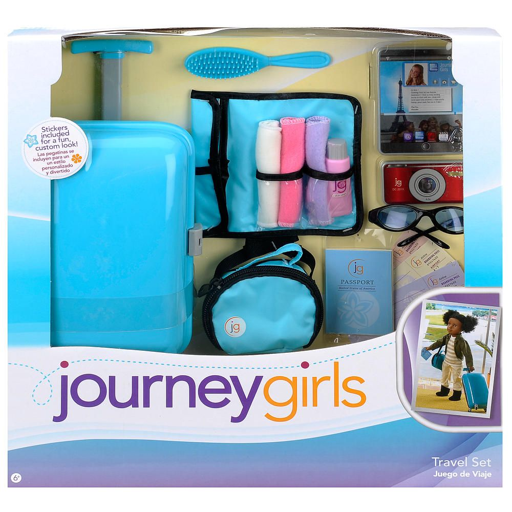 "Journey Girls Travel Set Toys R Us Toys ""R"" Us Dolls"