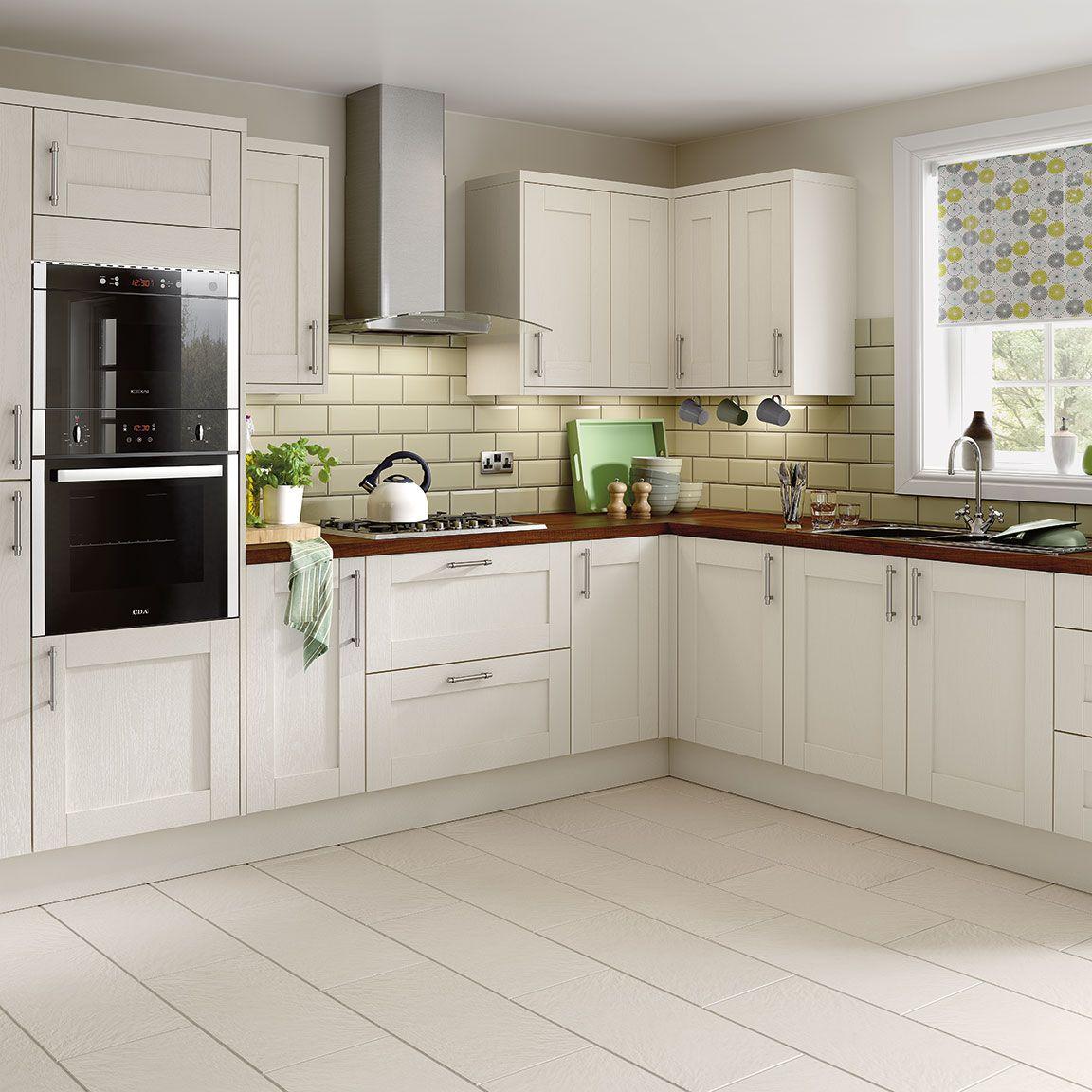 Simply Hygena Southfield Ivory Kitchen Kitchen