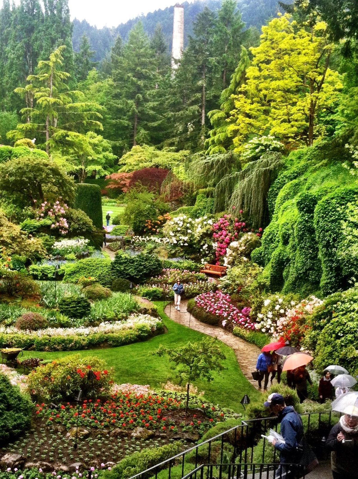 Buchart Gardens, Victoria Island, Canada Favorite Places