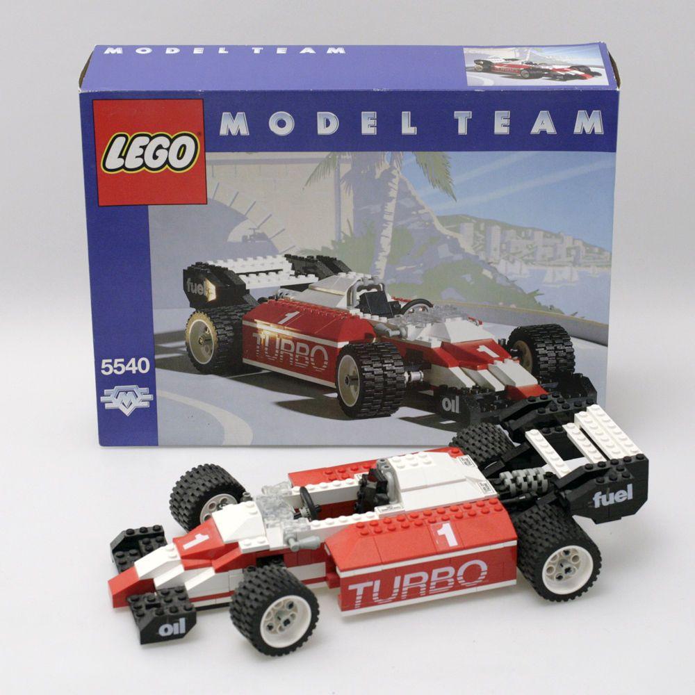 Lego 5540 Model Team Rennwagen OVP Anleitung box