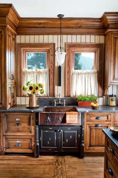Hickory Cabinets On Pinterest Hickory Kitchen Cabinets