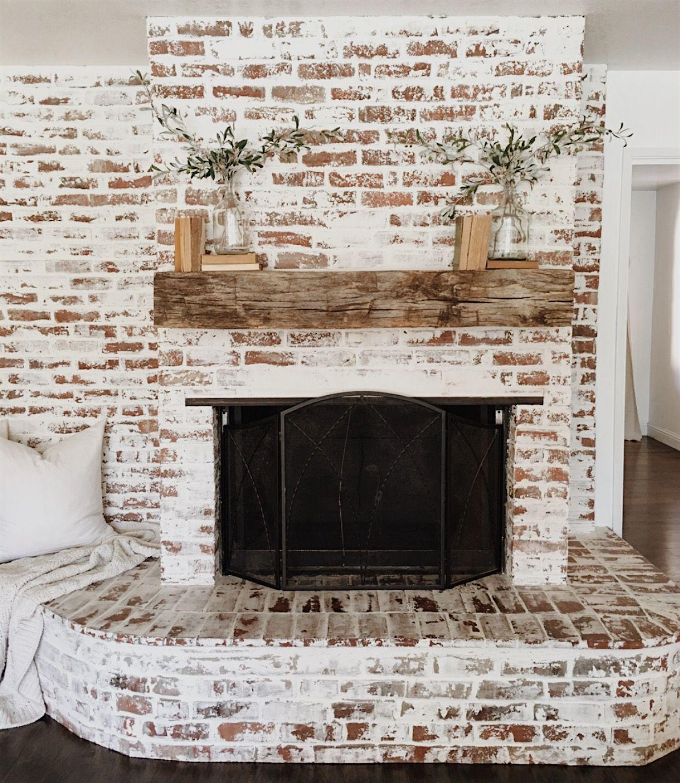 Simplicity fireplace Fireplace Pinterest Farmhouse