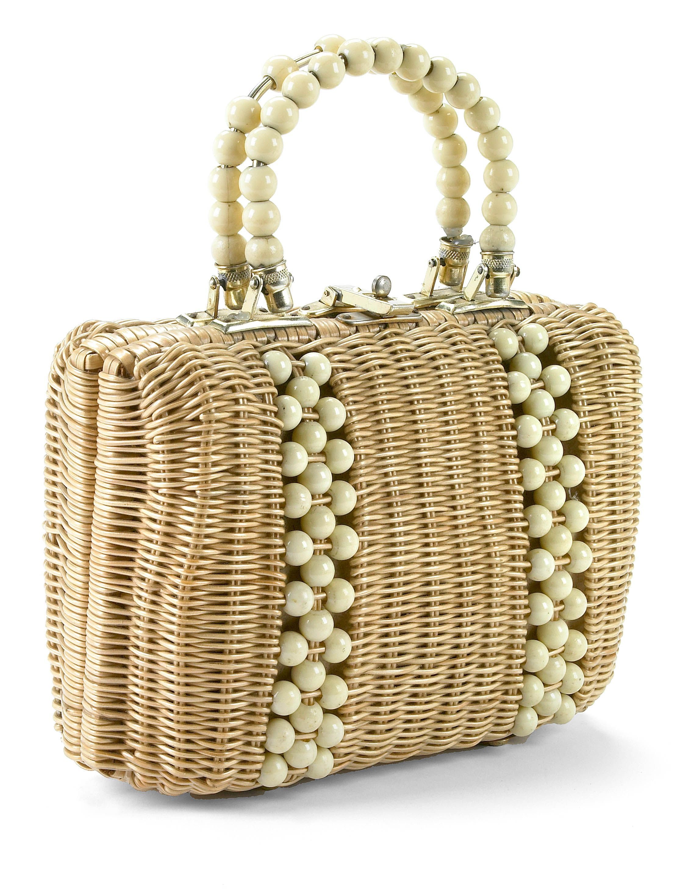 Sophia Petrillo Purse filled with Sherry Bottles, Near the