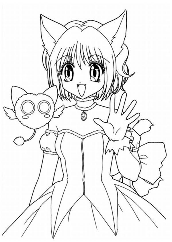 coloring pages anime girls and coloring on pinterest