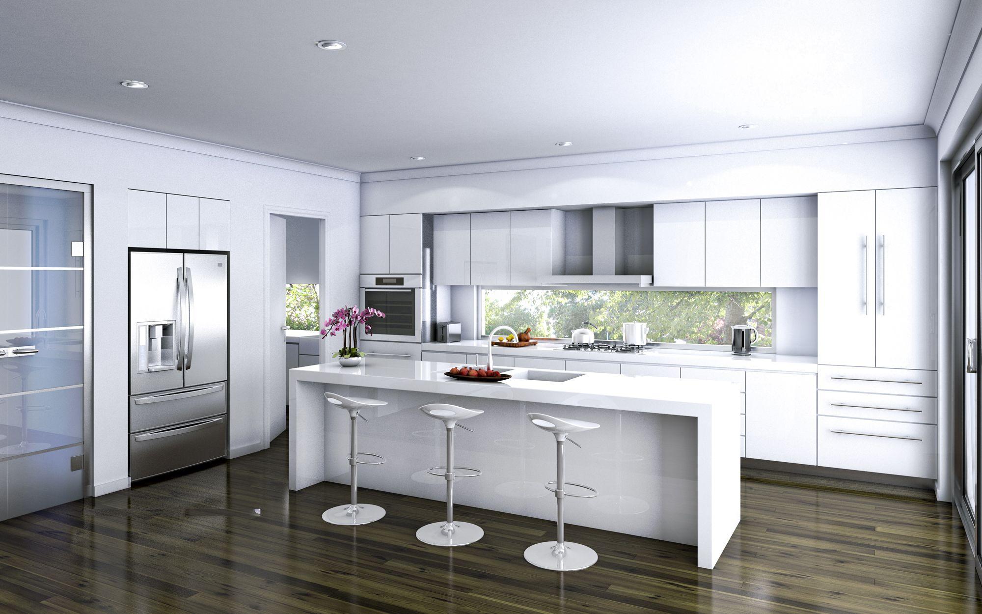 Kitchen Island Amazing Kitchen Designs With Dark Hardwood