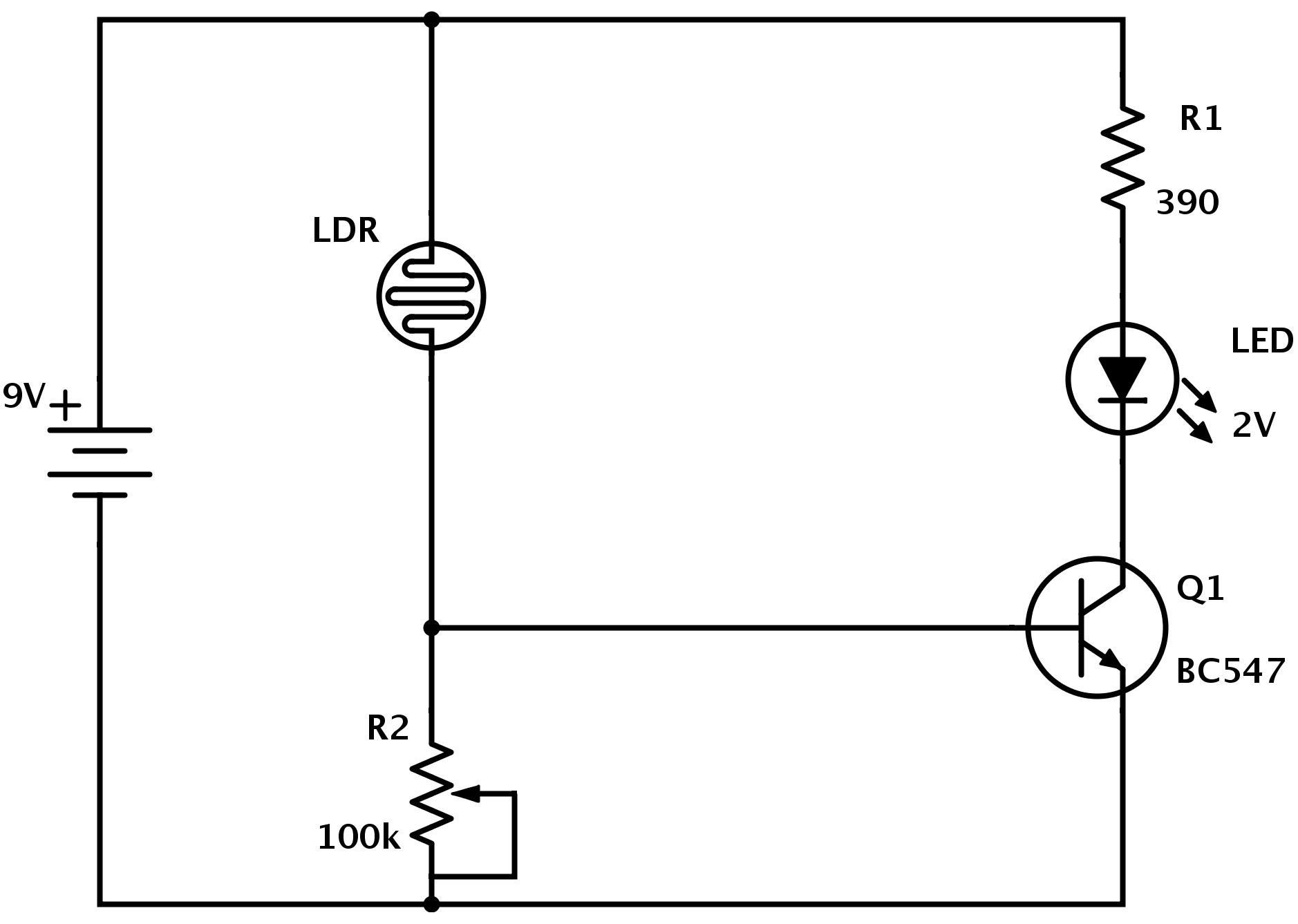 25 Unique Ldr Circuit Ideas