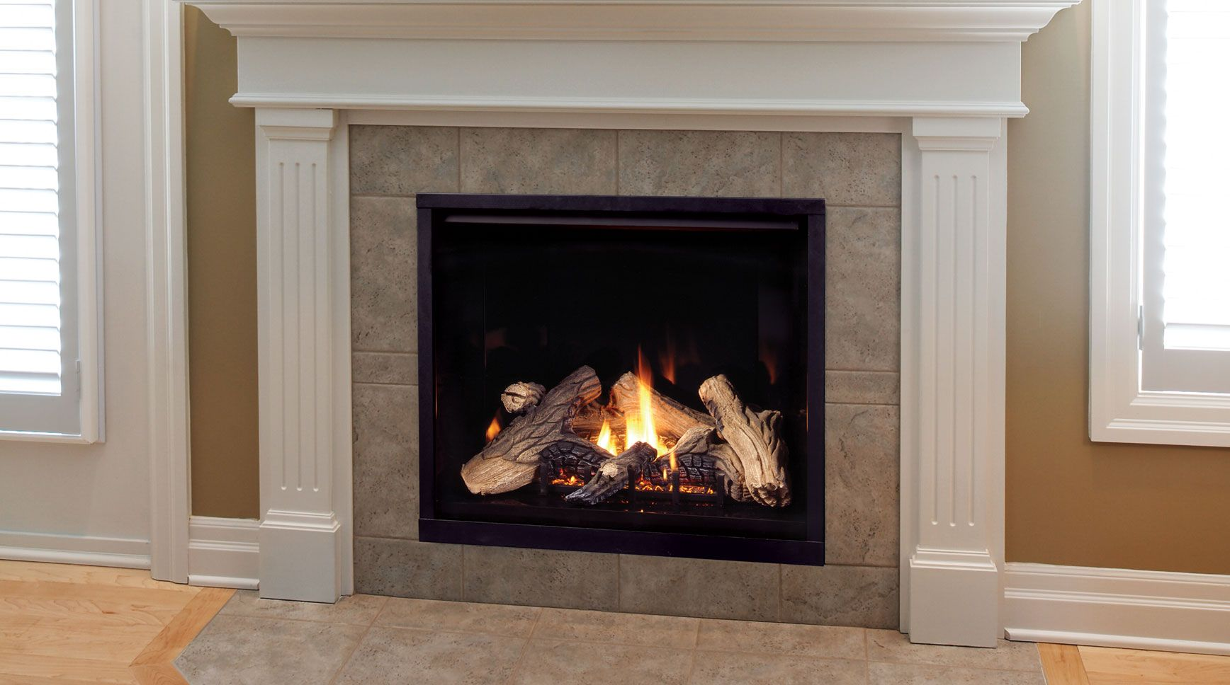Gas Fireplaces Come In Vented Or Non Vented Systems Not