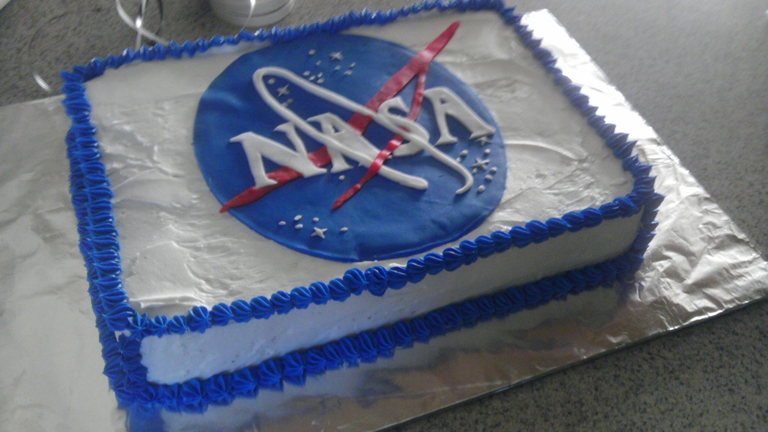 NASA Cake Craig's first MoniCakes Pinterest