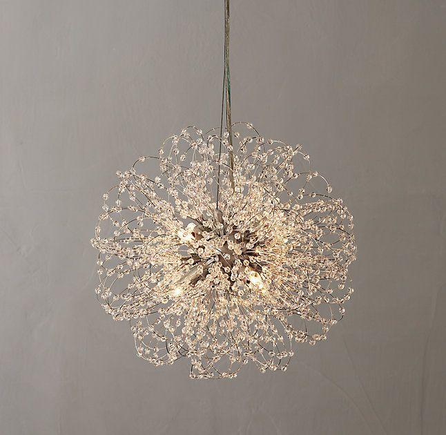 Very Beautiful Round Small Crystal Chandelier Lantern Lightinghome