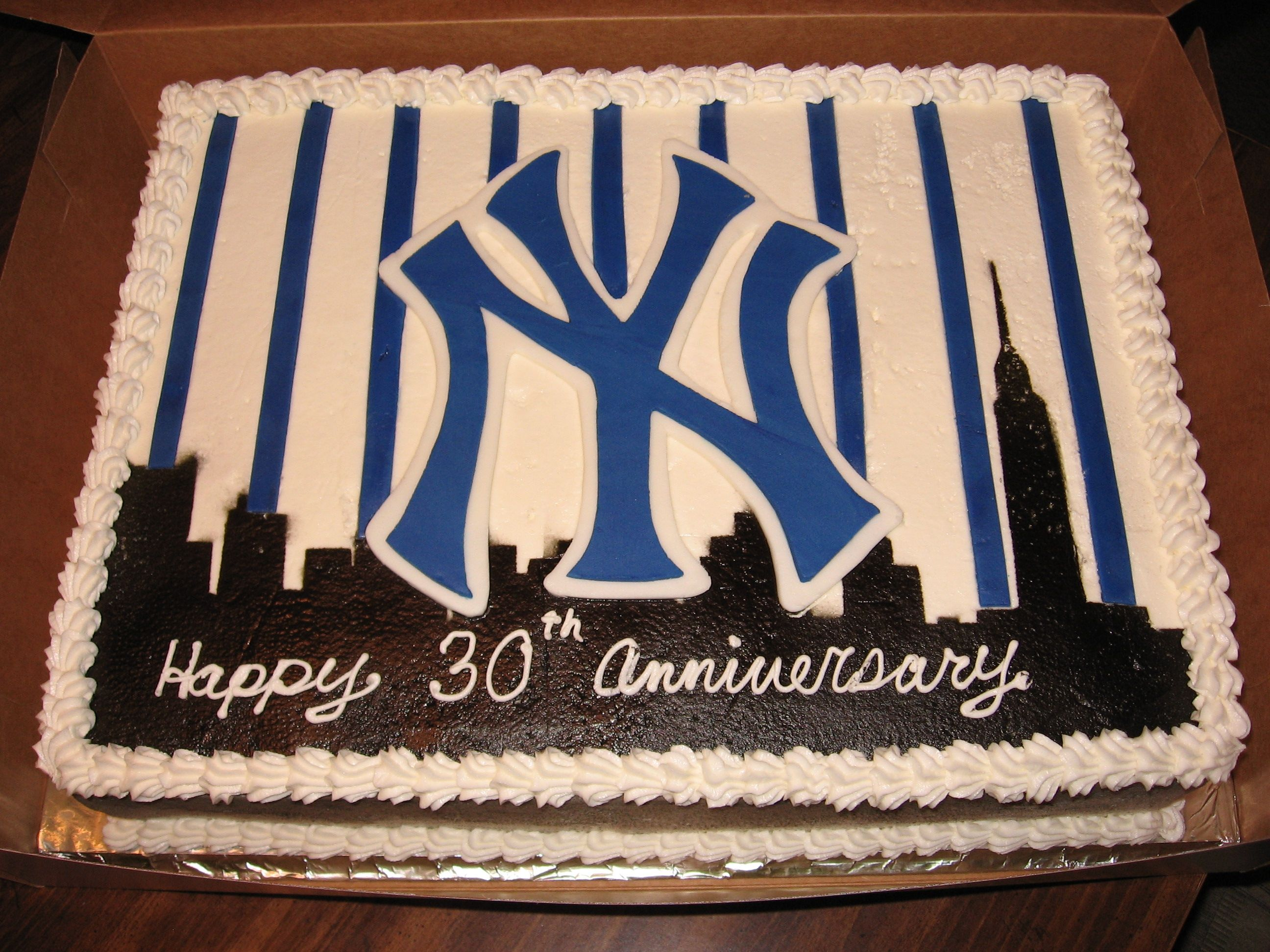 New York Yankees Cake Pictures