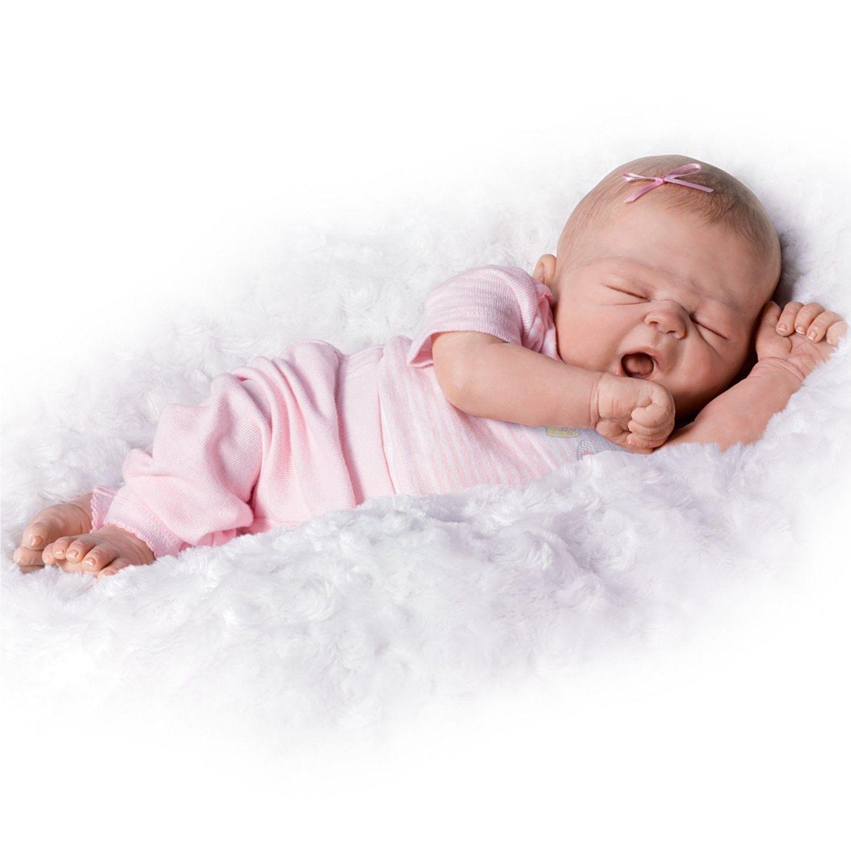 Ashton Drake Violet Parker So Truly Real So Sleepy Girl