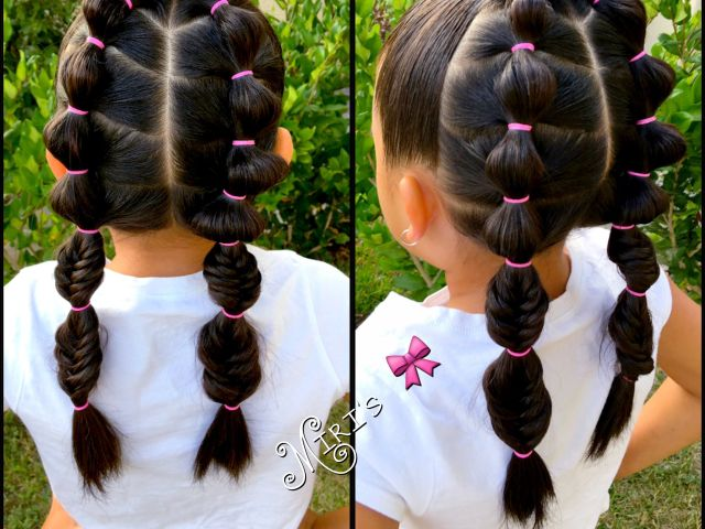 hair style for little girls | natural hair style braids