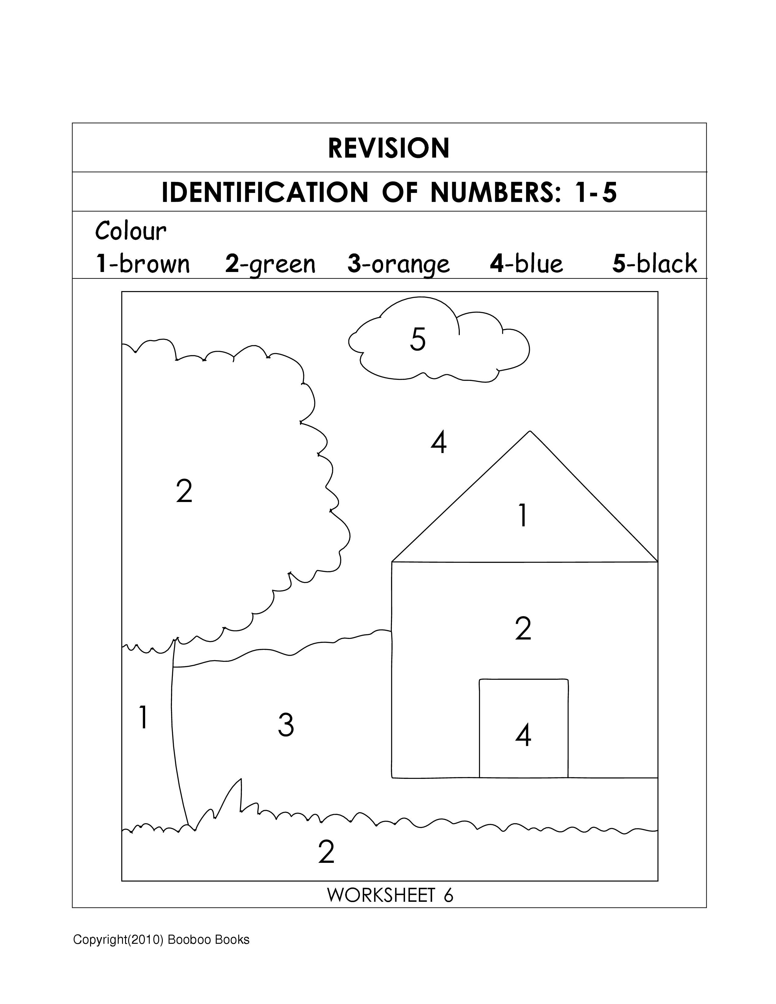 Basic Number Sense Worksheet