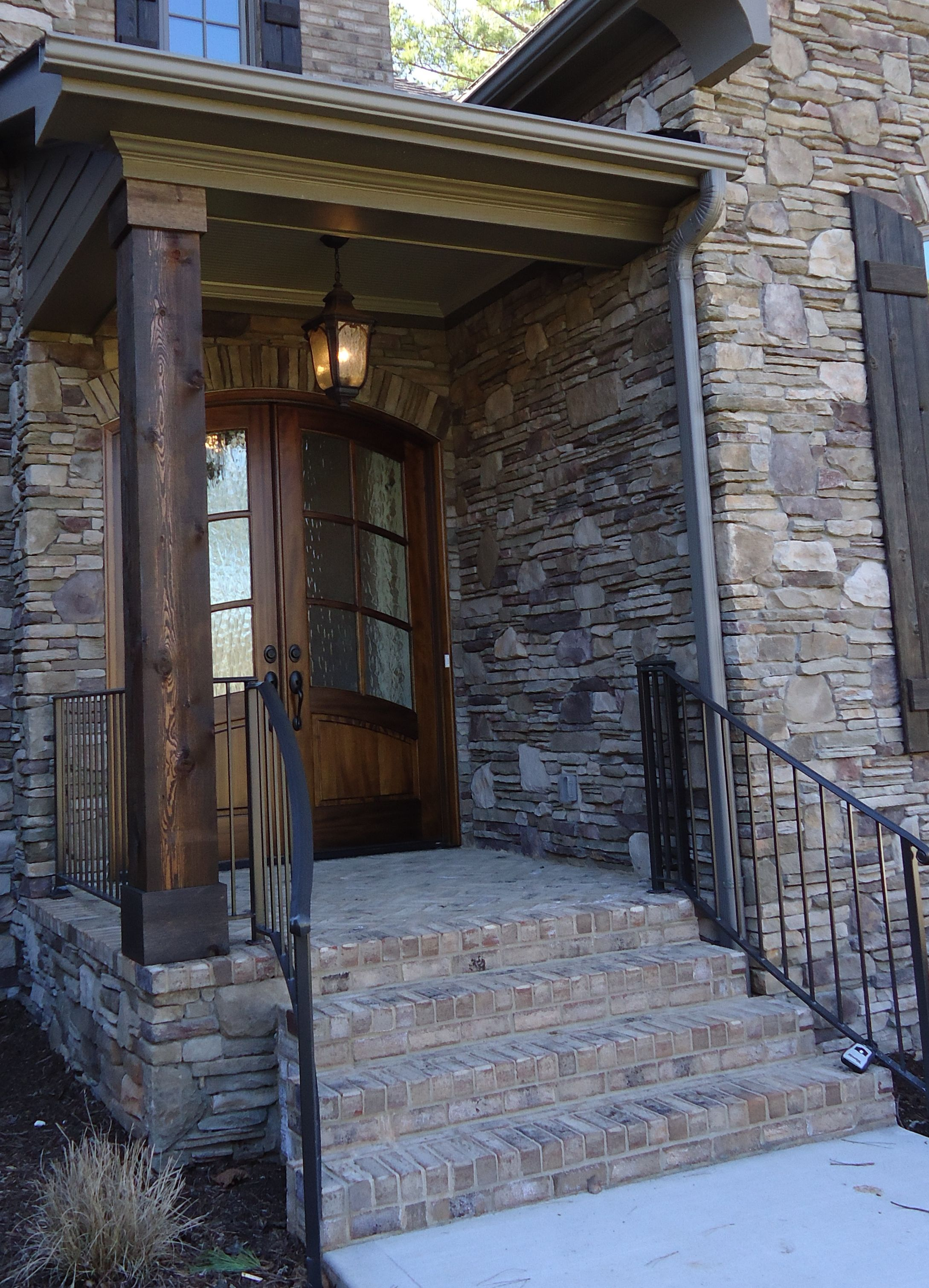 How To Stain Exterior Brick