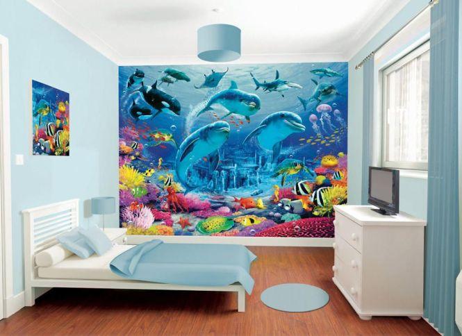 Decorating Ideas Underwater Ocean Theme Bedrooms Bathrooms Fish Images