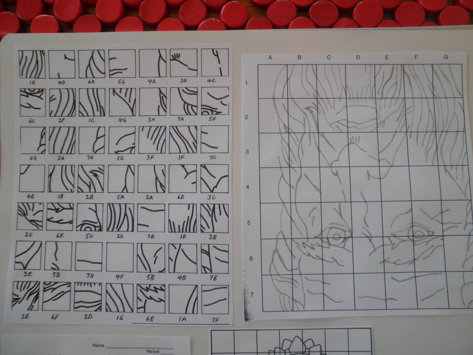 Teaching Art Grid Drawing I Have Done The Upside Down Grid Drawing With Students Before But I