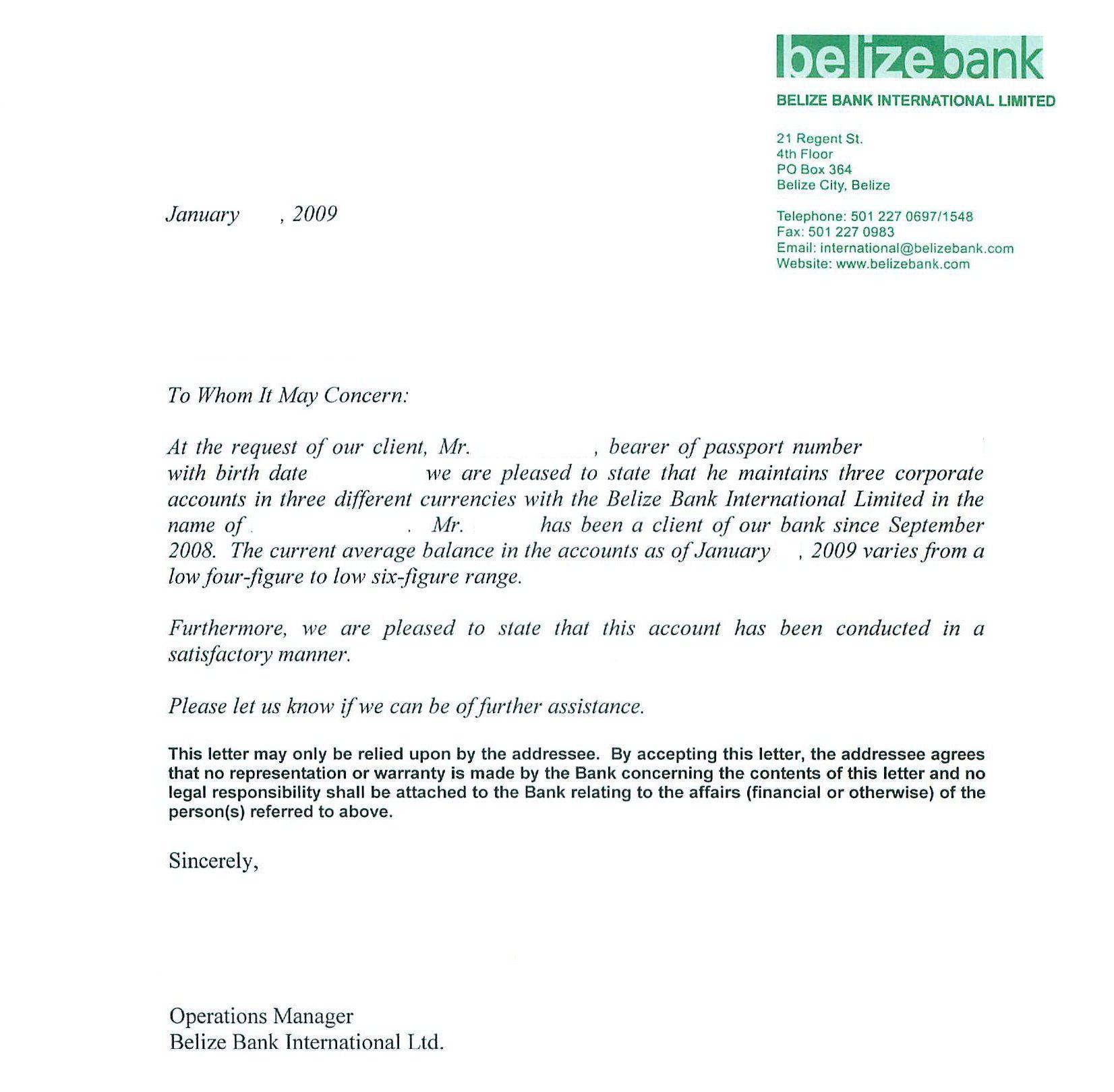 Federal Letter HelpReference Letters