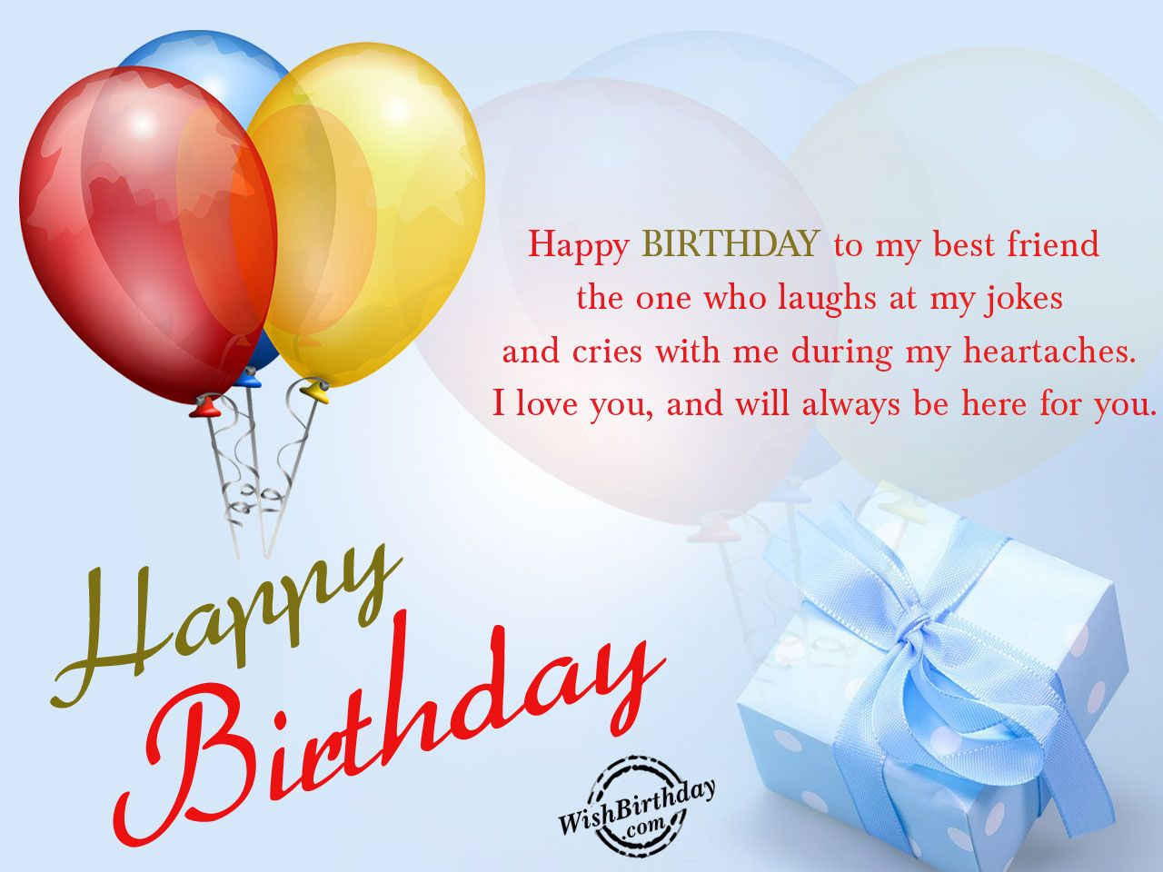 happy birthday messages for him friend my best friend