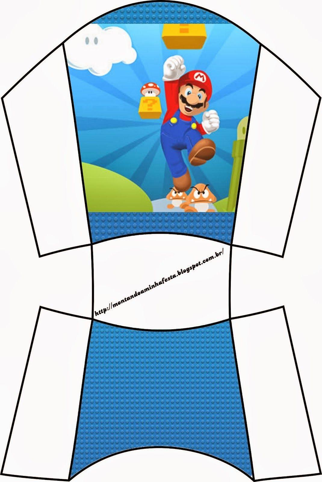 Super Mario Bros Free Printable Boxes