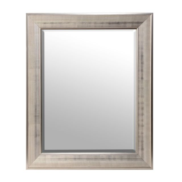 Silver Grid Framed Mirror 30x36 Kirklands Bedroom