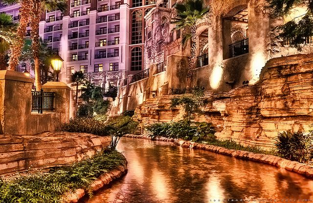 The Gaylord Texan Resort in Grapevine looks like it