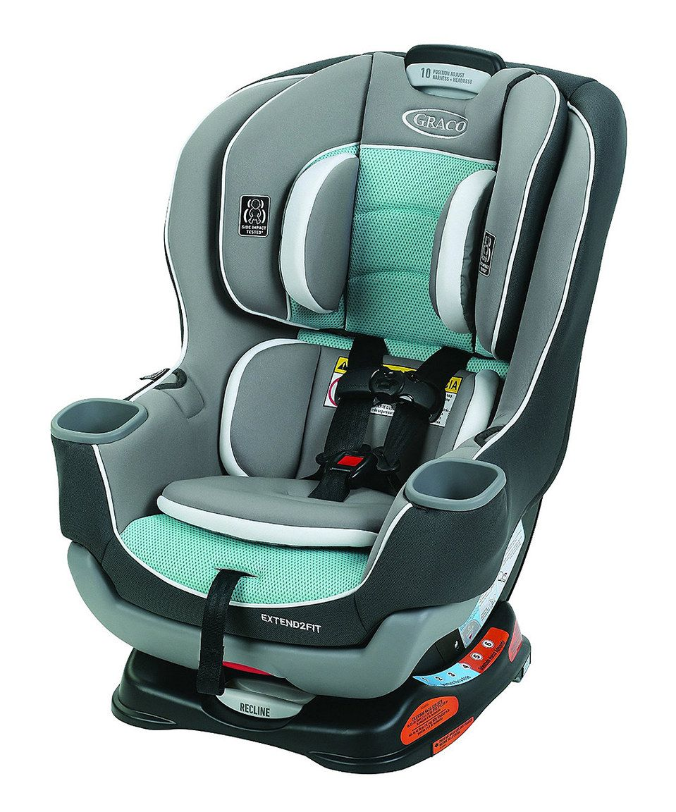 Graco Spire Extend2Fit 65 Convertible Car Seat & Base