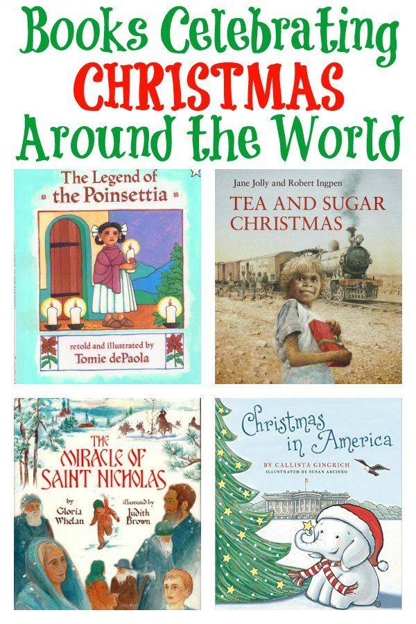 Books Celebrating Christmas Around the World Celebrations