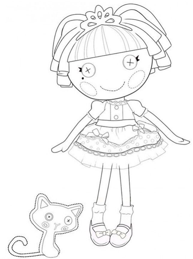Lalaloopsy Coloring Pages Mittens. lalaloopsy coloring pages free ...
