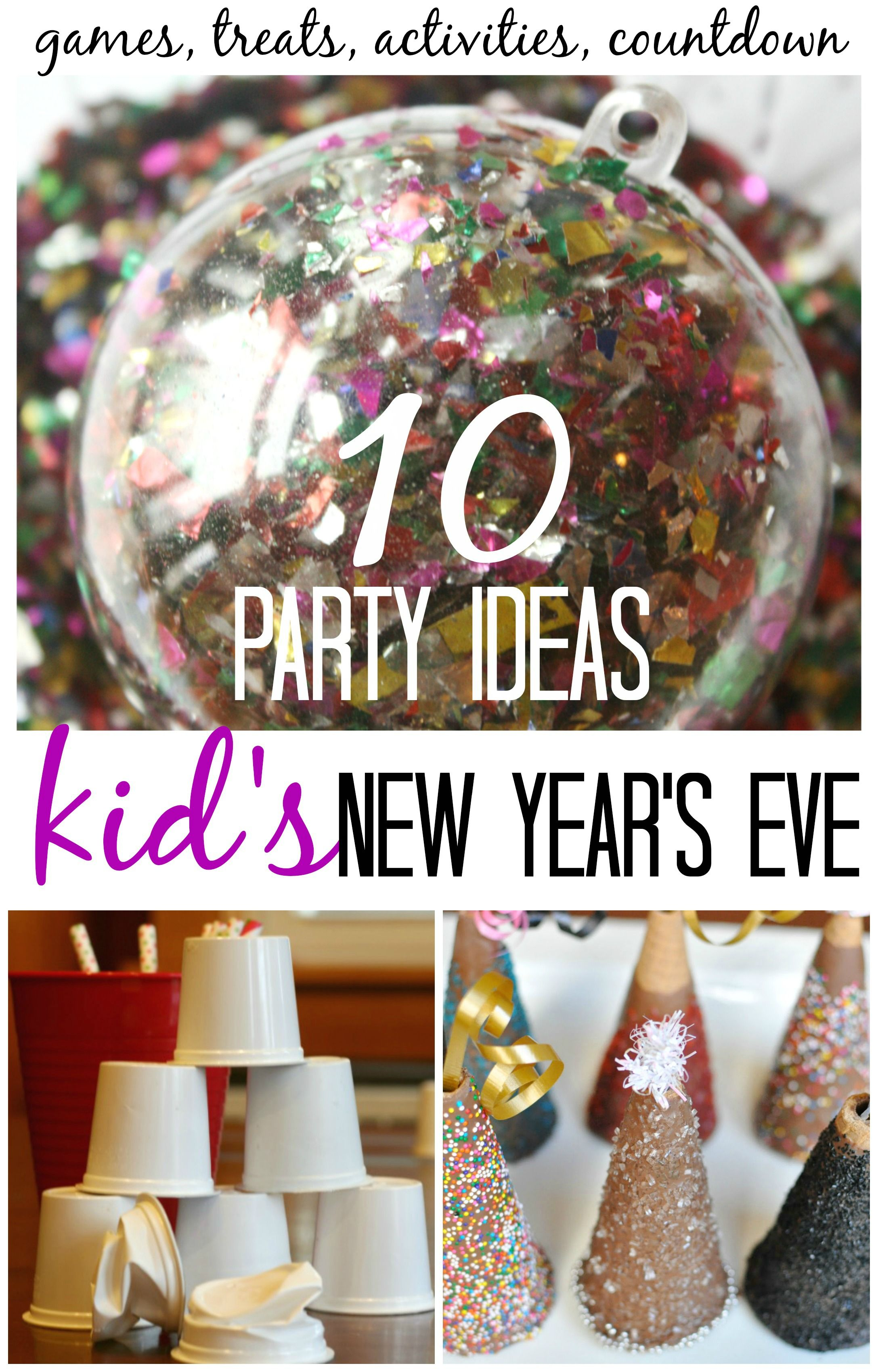Kids New Years Eve Party Ideas and Activities for New