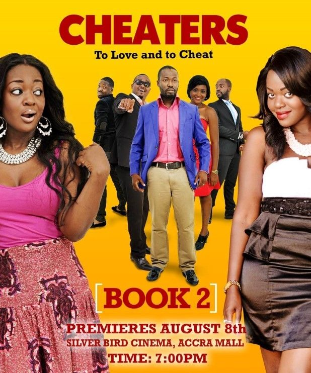 Cheaters Book 2 starring Adjetey Annan and Jackie Appiah
