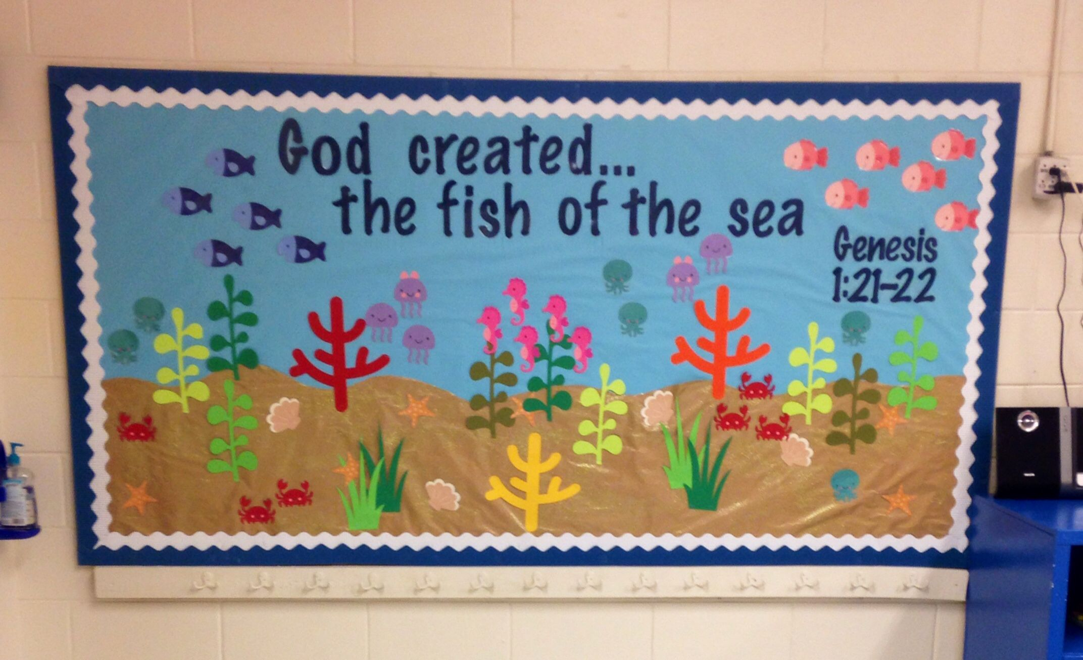 Under The Sea Classroom Theme K 3 Bulletin Board