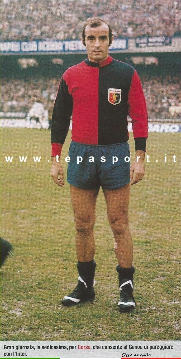 Mario Corso Dall'album 197374 Calciatori Panini e La