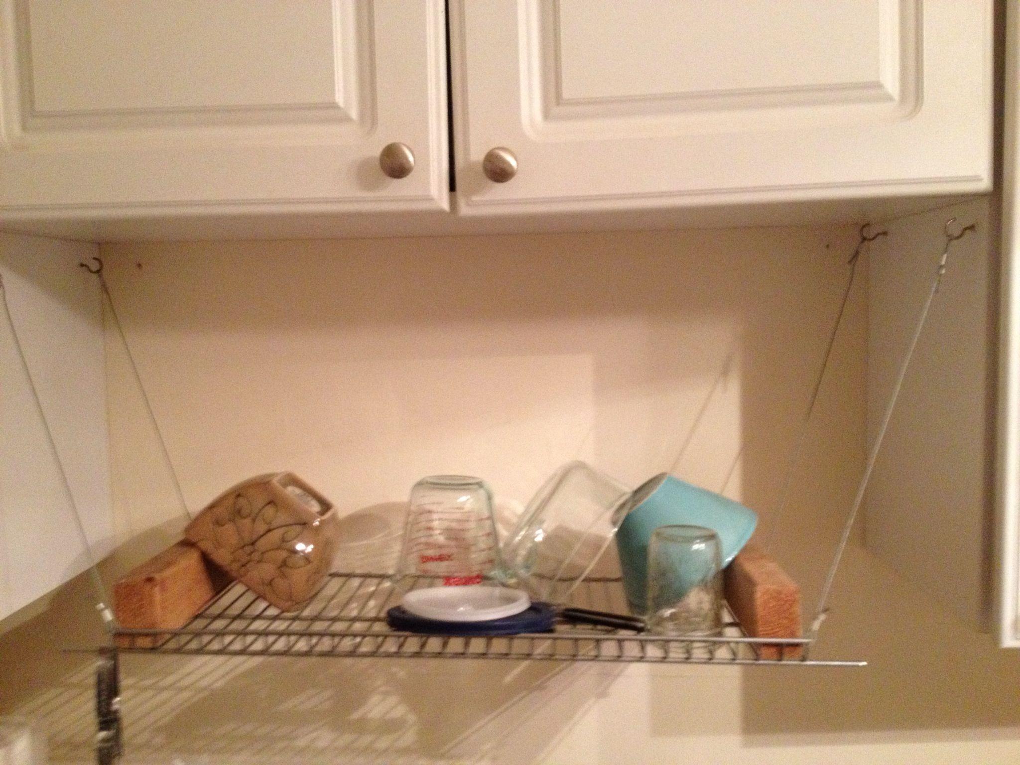 DIY Dish Drying Rack DIY Ideas Pinterest Dish Drying Racks Kitchens And Dish Racks