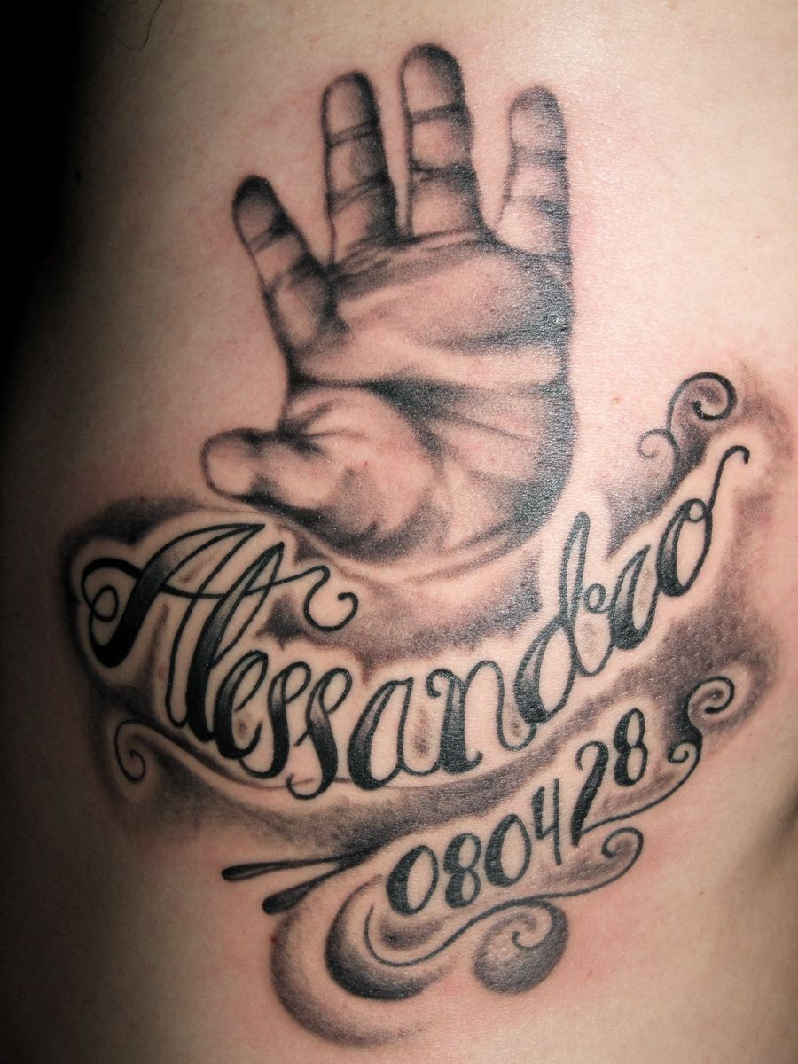 I really want this tattoo of Keegan's hand. I want his
