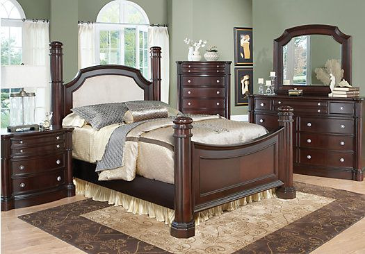 I Finally Found The Bedroom Set Want Wooohoo King Size For A Dumont Low Poster 7 Pc At Rooms To Go Find Sets That