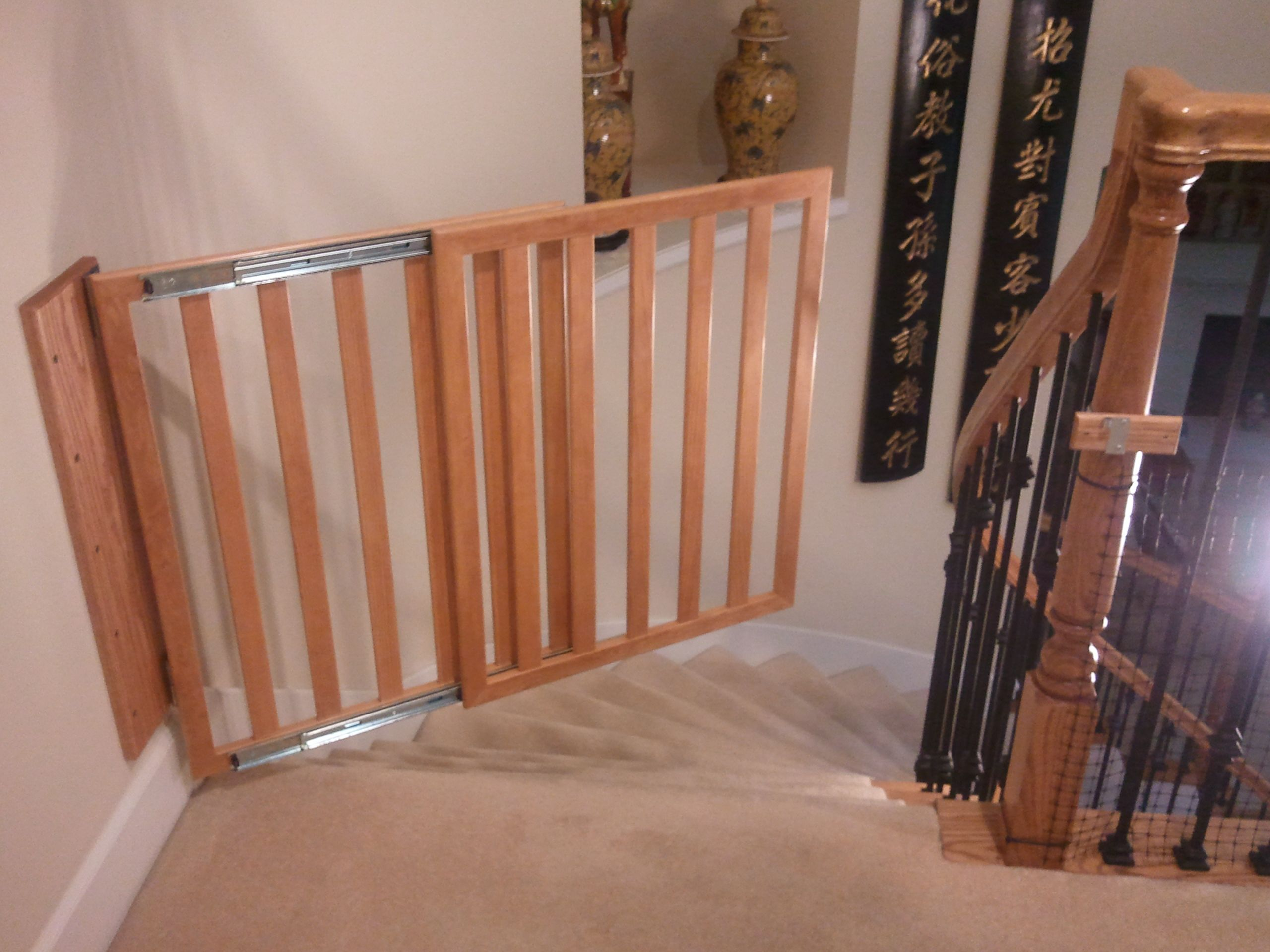 Download Free Baby Gate Plans Wooden baby gates, Baby