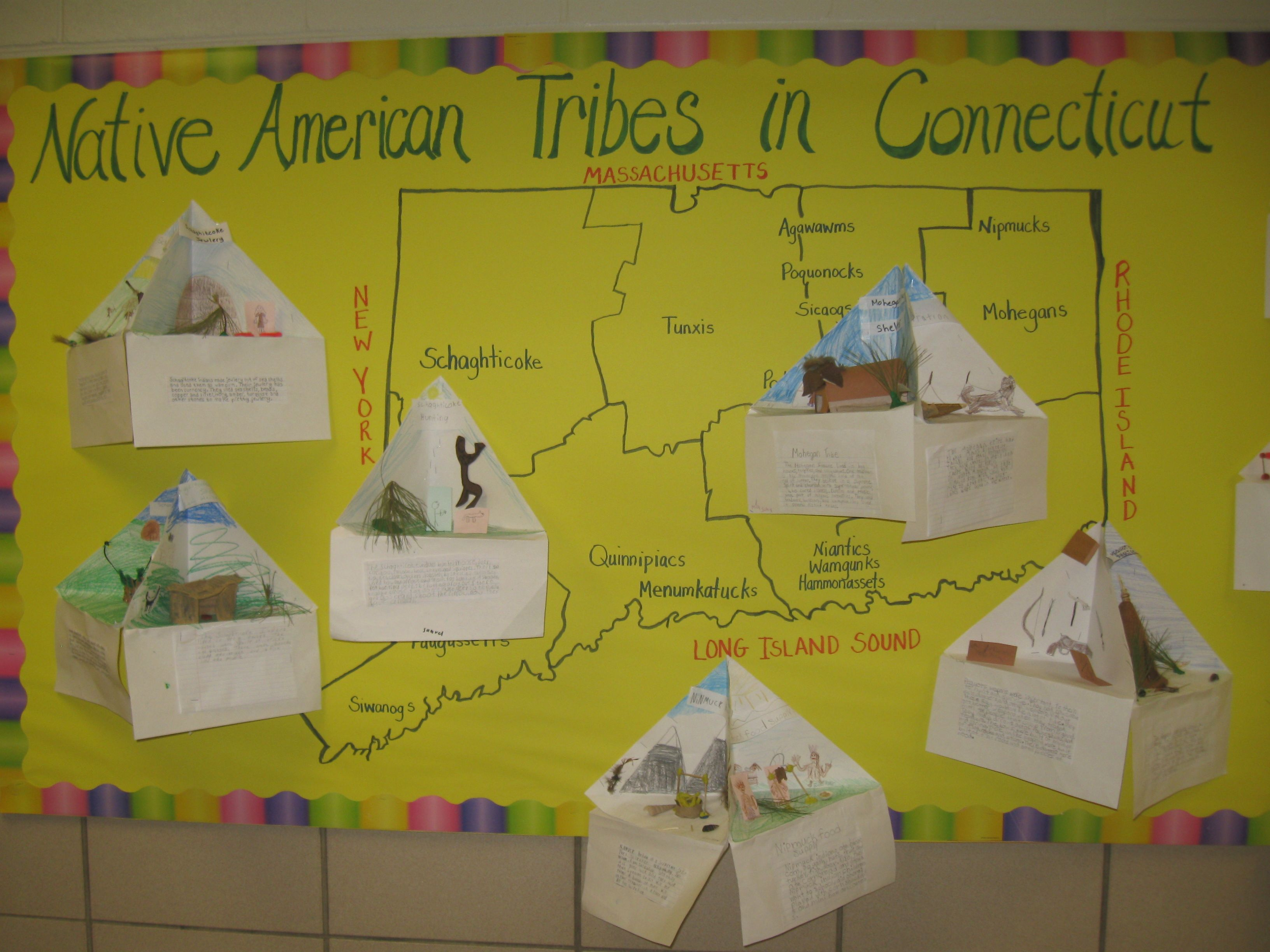 Native American Tribes In Ct Bulletin Board