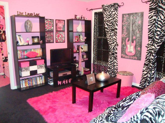 Fashionable Hangout Lounge Dream Roomsdream Bedrooms Bedroomzebra Bedroomsblack Bedroomspink