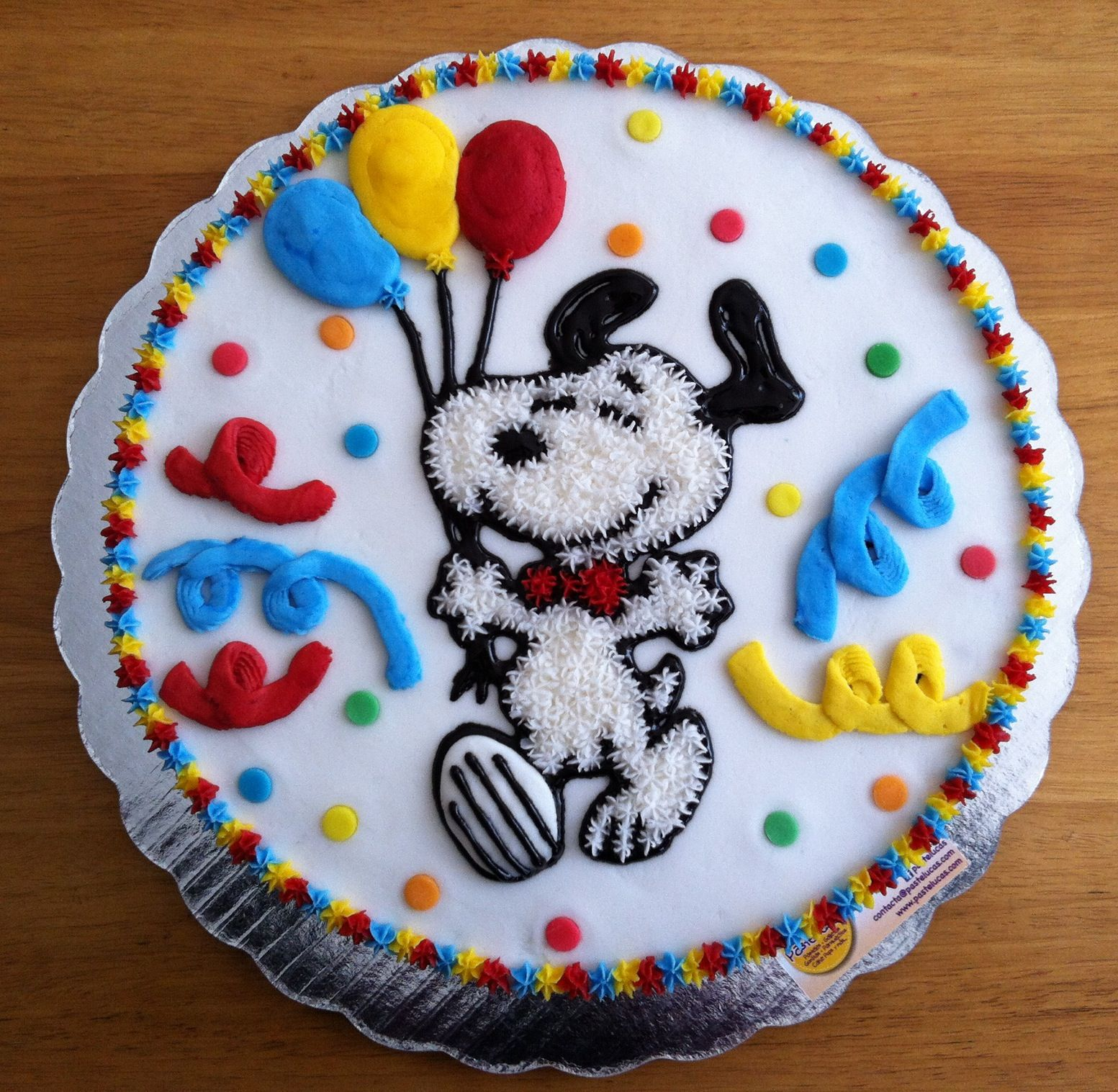 Snoopy Cake How Cute Is That