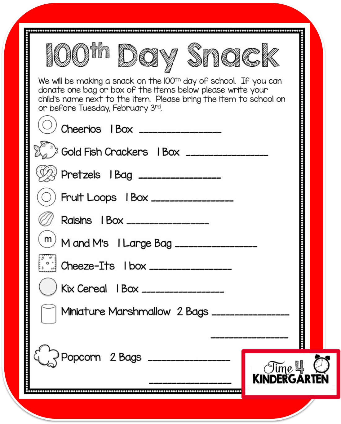 How To Celebrate The 100th Day Of School