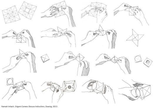 Origami Camera Obscura Hannah Imlach A F S T U D E R N
