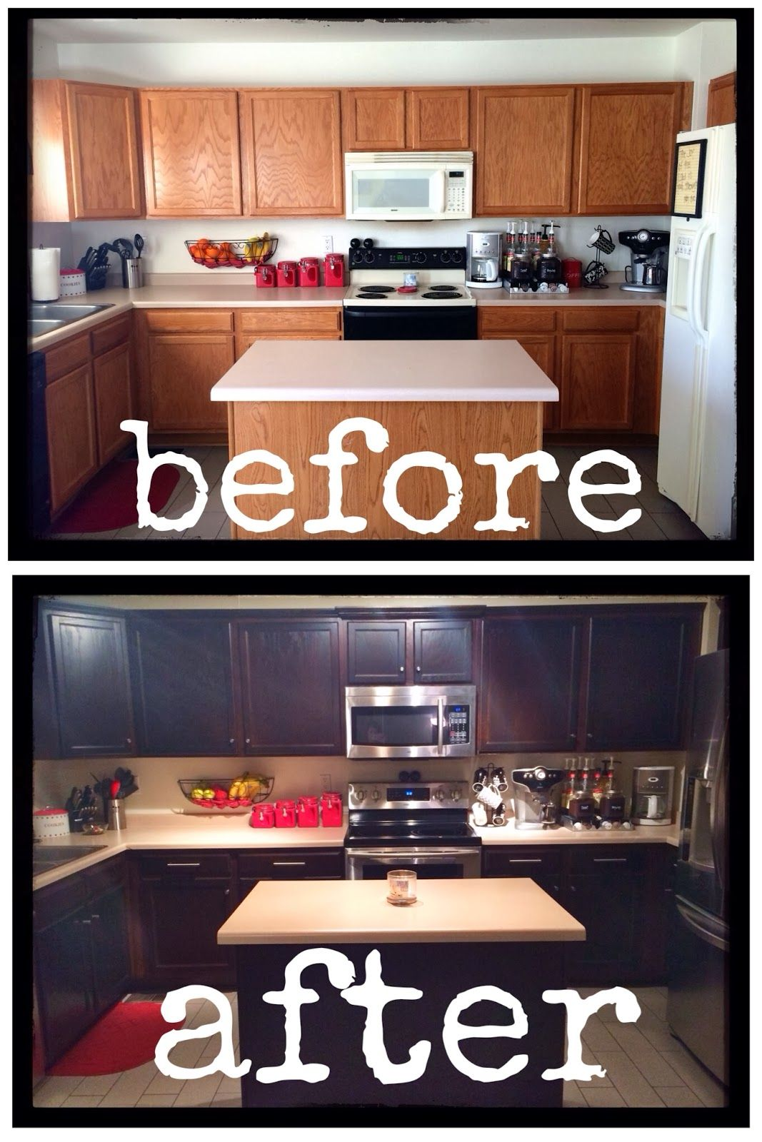 DIY.. How To Inexpensively Stain/Paint/Refinish Your