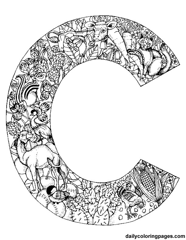 letter c learn to write letter c coloring page learn to write